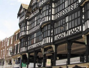 chester tudor shops